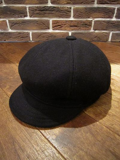 "29cef590 NEW YORK HAT (ニューヨークハット) WOOL CASQUETTE""WOOL SPITFIRE"" (ウールキャスケット)"
