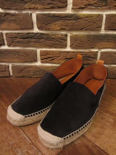 "POLO BY RALPH LAUREN(ポロ ラルフローレン)BROWNSWORTH SUEDE ESPADRILLE""NAVY""(スウェードエスパドリーユ)"