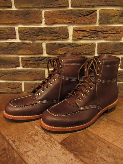 "RRL (ダブルアールエル)""NEW CLIFTON"" BOOTS (モックトゥブーツ)"