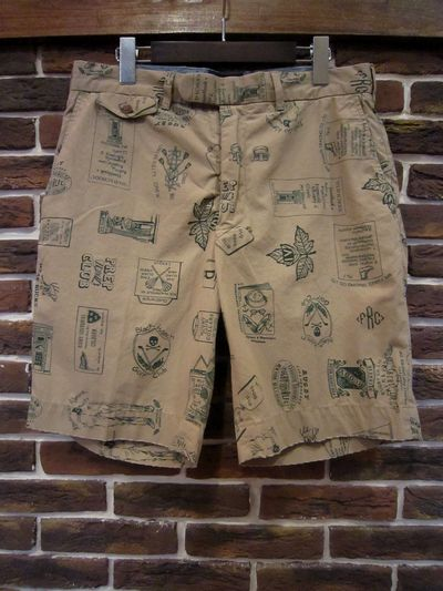 RUGBY(ラグビー)  WHOLE PATTERN CHINO SHORT PANTS