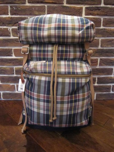 RUGBY(ラグビー)  MADRAS CHECK BACK PACK