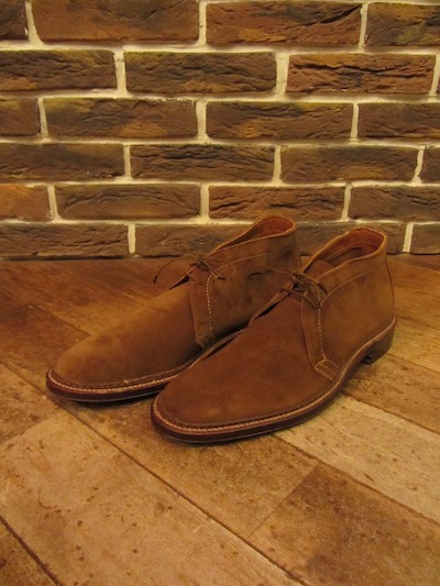 "ALDEN(オールデン)UNLINED CHUKKA BOOTS"" SNUFF SUEDE""(スウェードチャッカブーツ)"