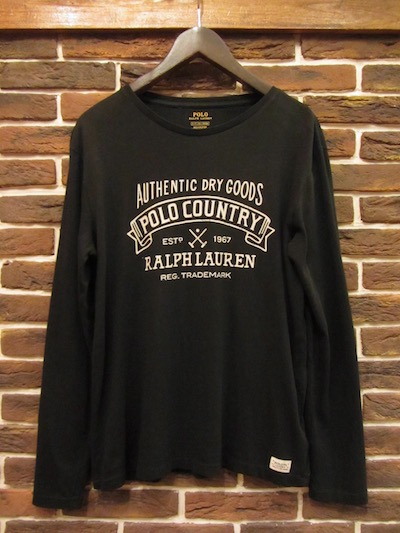"POLO RALPH LAUREN(ラルフローレン)""POLO COUNTRY"" L/S T-SHIRTS(ポロカントリーロンT)"