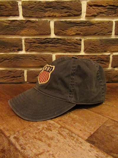 RRL (ダブルアールエル)ROUTE66 BALL CAP(ワッペンキャップ)