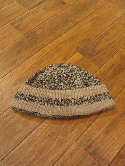 "RRL (ダブルアールエル)MARLED KNIT WATCH CAP""MADE IN USA""(ニットキャップ)"