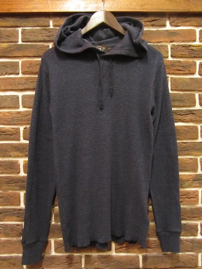 RRL (ダブルアールエル)THERMAL PULLOVER HOODIE(ネップサーマルパーカー)