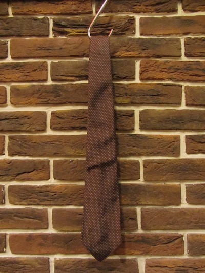 RRL (ダブルアールエル)BROWN DOT SILK TIE