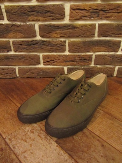"RRL (ダブルアールエル)NORFOLK SNEAKER""COTTON×NYLON CAMO ""(NORFOLKスニーカー""カモ"")"