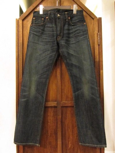 "RRL (ダブルアールエル)""LOW STRAIGHT"" JEANS STILLWATER WASH ""2"